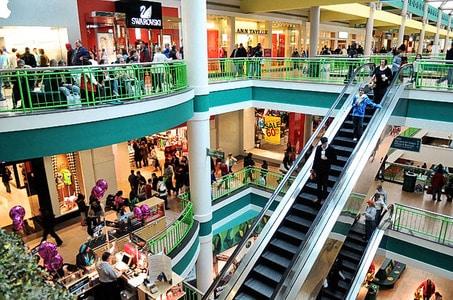 Inside the desiny USA mall -photo credit: syracuse.com
