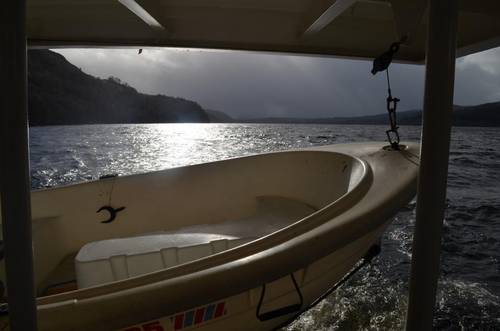 Stormy skies on Loch Ness