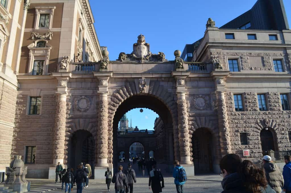 Gamla Stan is the oldest part of the Stockholm