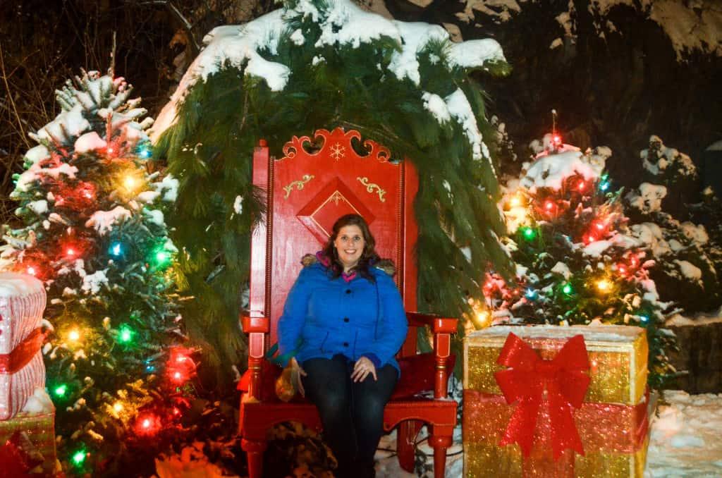 My visit definitely put me in the Christmas spirit!