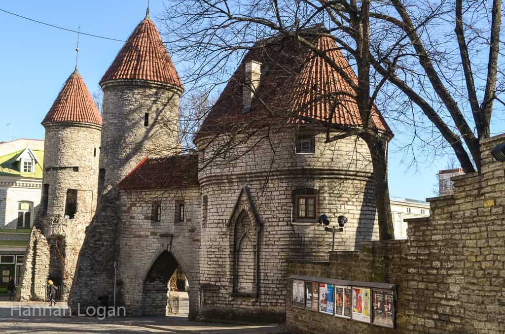 The gates to Old Town Tallinn