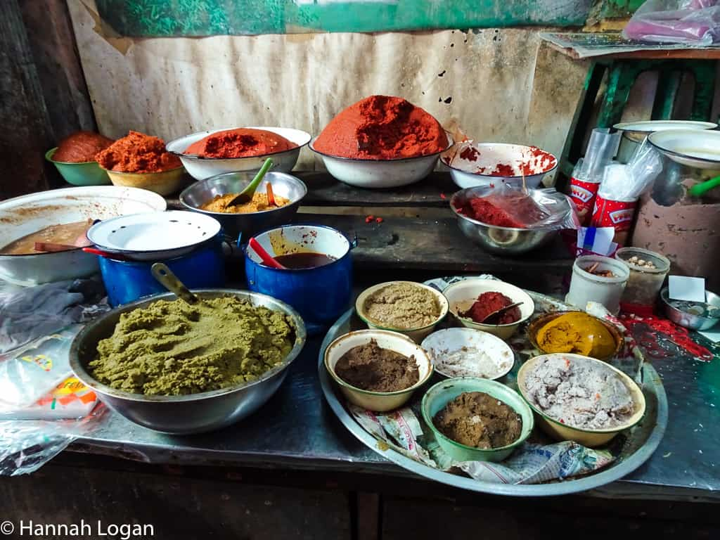 all the different curries