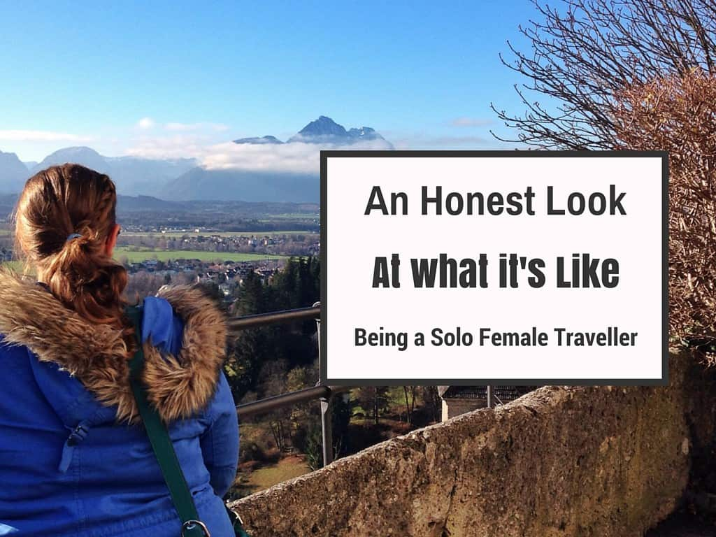 What is it like being a solo female traveller