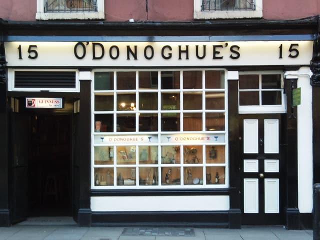O'Donoghues Pub, Dublin