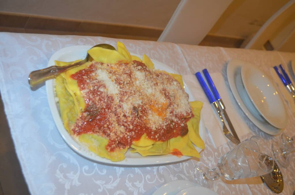 Why would anyone cook noodles from a bag when you are in the land of fresh, homemade pasta?