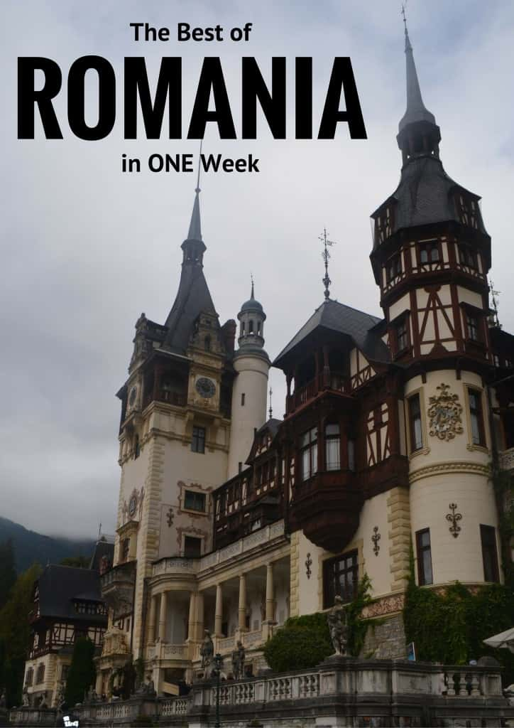 Romania in one week