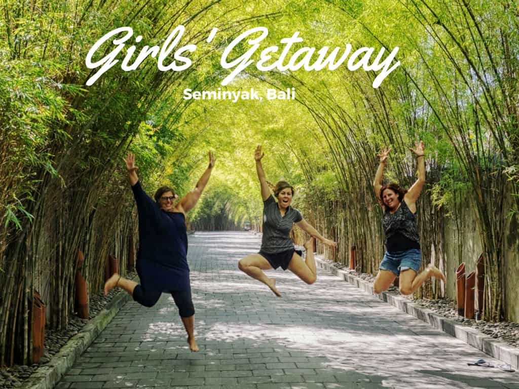 girls getaway Bali