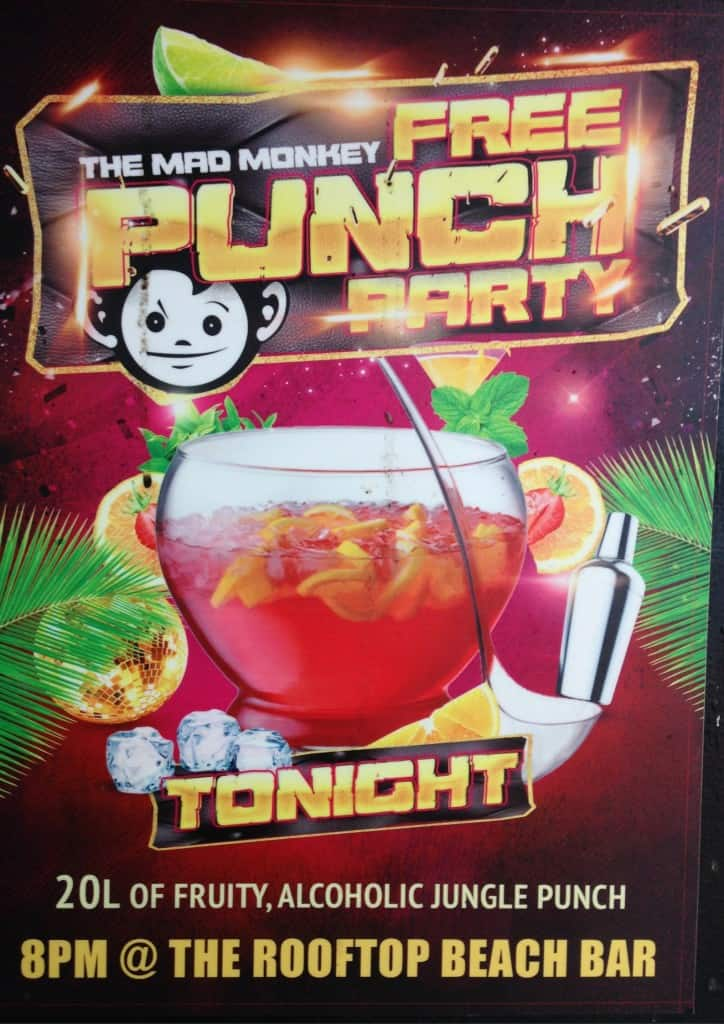 mad monkey siem reap party