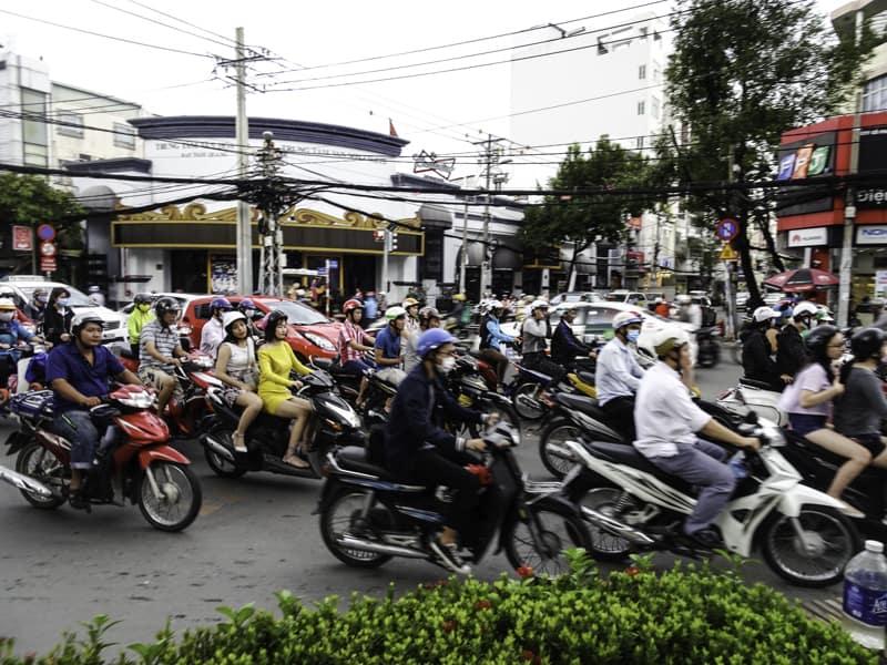 Ho Chi Minh City traffic