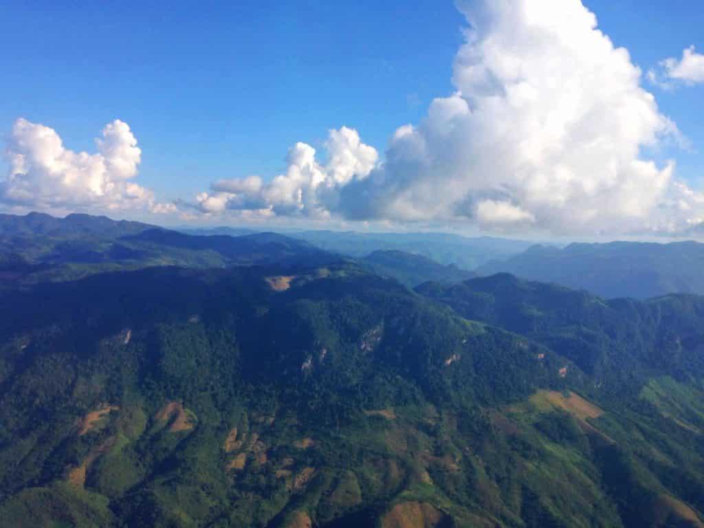 Luang Prabang flight