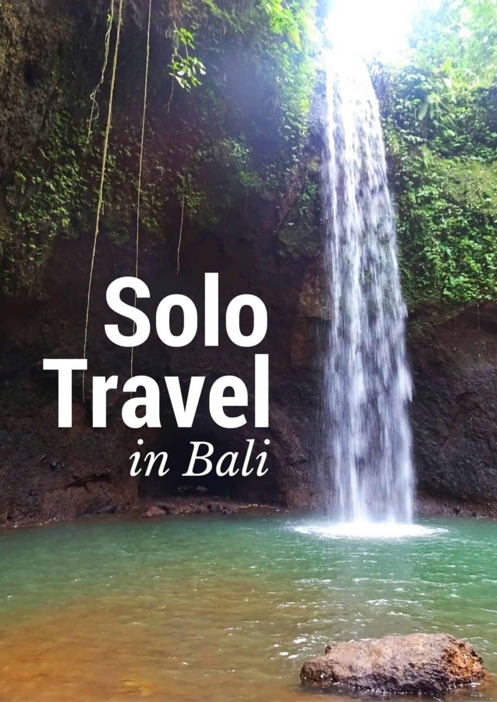 Solo Travel Bali