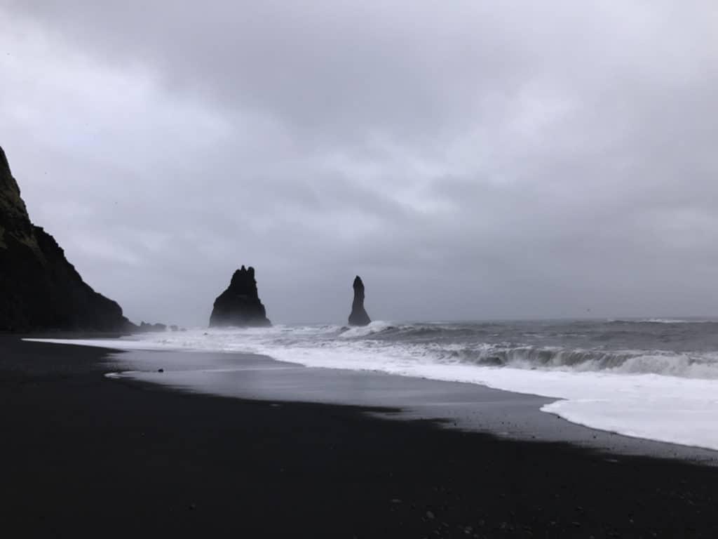 black sand beach- south coast Iceland