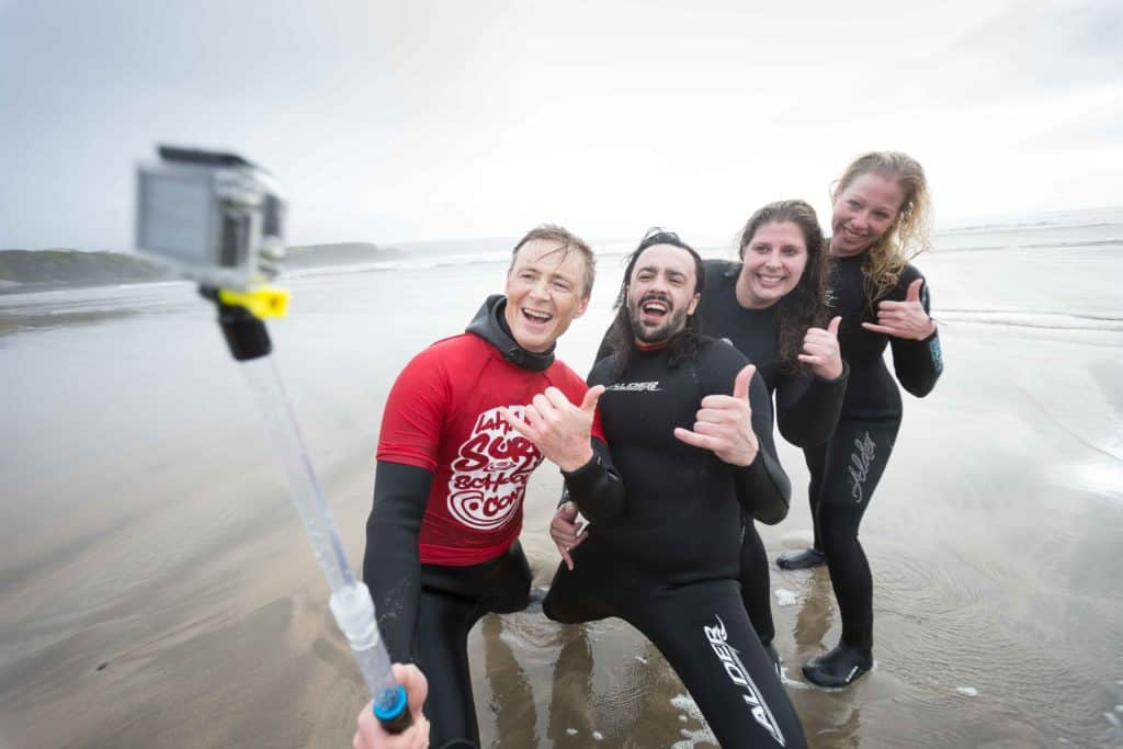 Learning to Surf in Ireland