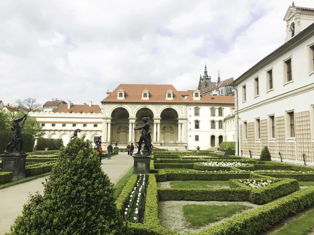 Senate Gardens Prague