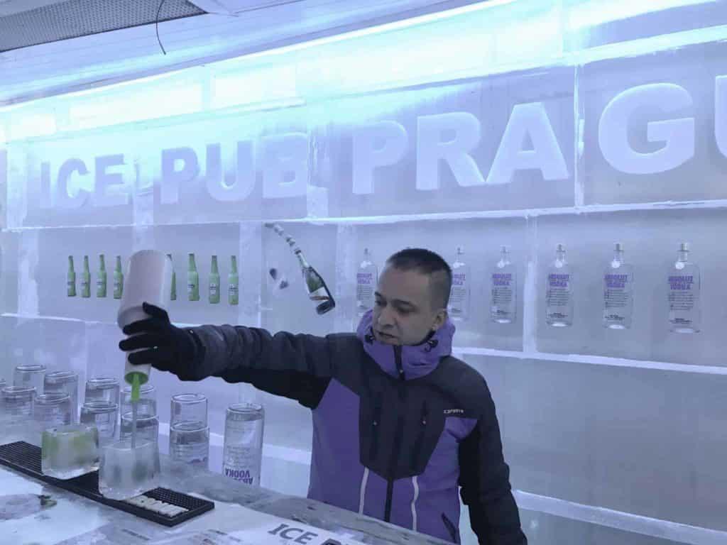 Ice Bar Prague