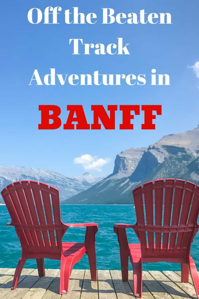 Headed to Banff National Park and looking to get off the beaten track? These are my suggestions. #Banff #Alberta #Canada