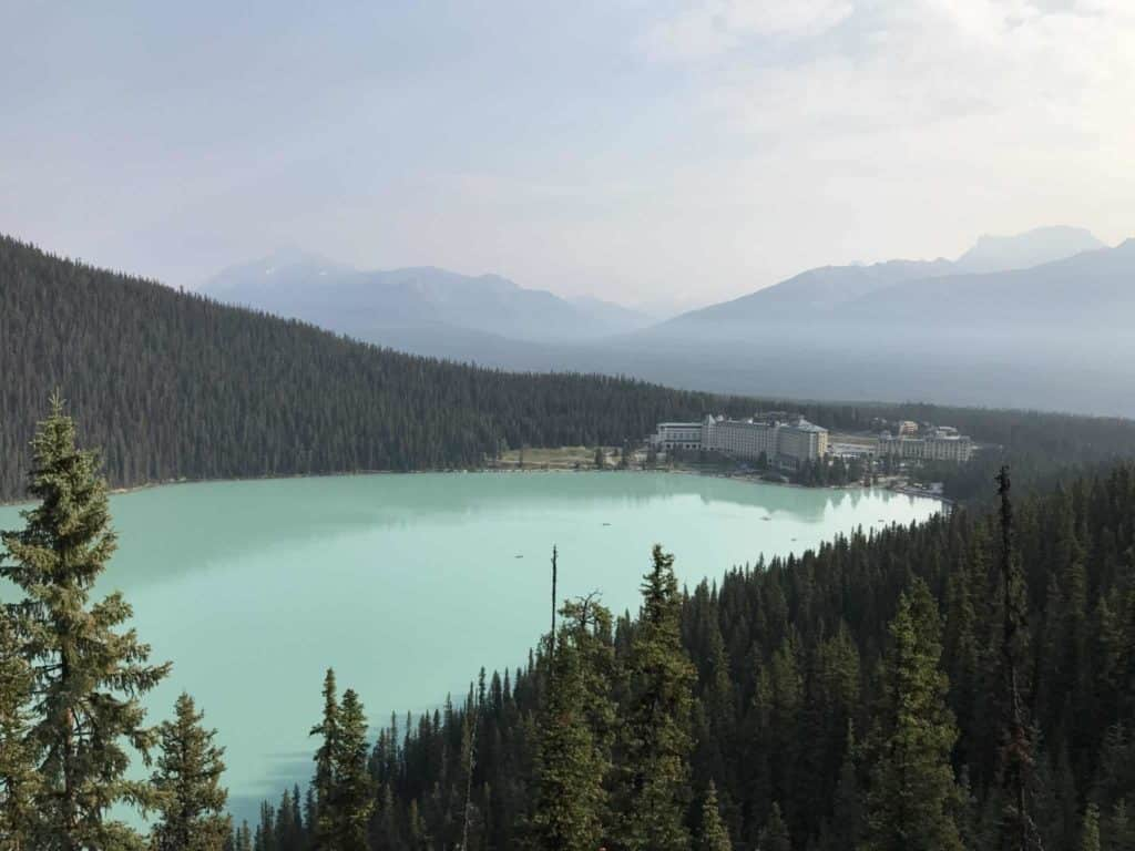 Hiking in Lake Louise, Banff