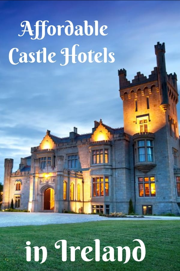 Add some magic to your Irish vacation by staying in one of these affordable castle hotels in Ireland. #Ireland #Castle #CastleHotel #IrishCastle