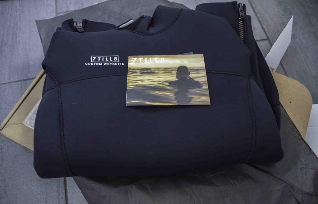 7til8 Custom Wetsuit