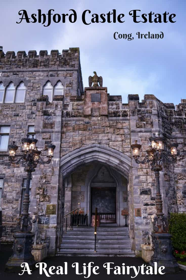 Ashford Castle Estate is the ultimate fairytale experience in Ireland! This luxurious Irish castle hotel property has two accommodation choices; an authentic Irish castle and a 5 star hotel, with tons to see and do on the property. Read this article to find out why this is the best Irish castle hotel experience. #IrishCastle #Ireland #WildAtlanticWay #CastleHotel #AshfordCastle