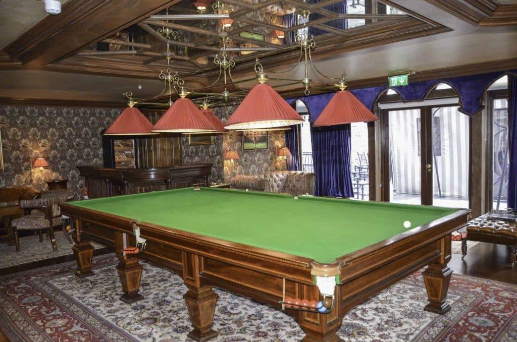 Ashford Castle Billiards Room