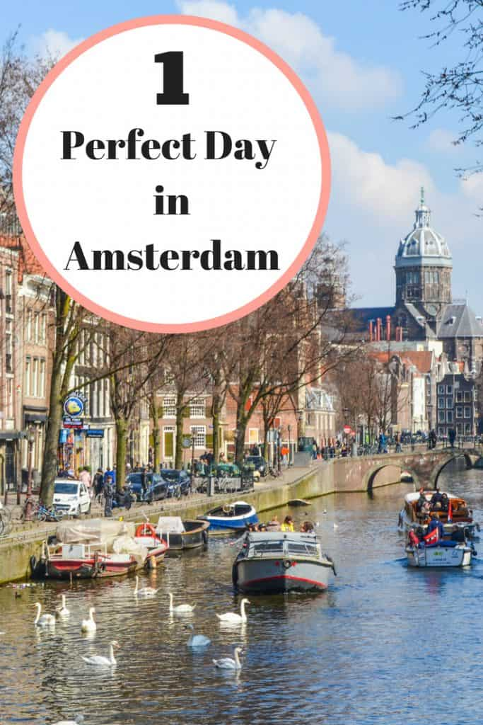 Only have one day to explore Amsterdam? Don't worry, you can fit in a lot! Here are my suggestions for how to spend one day in Amsterdam.