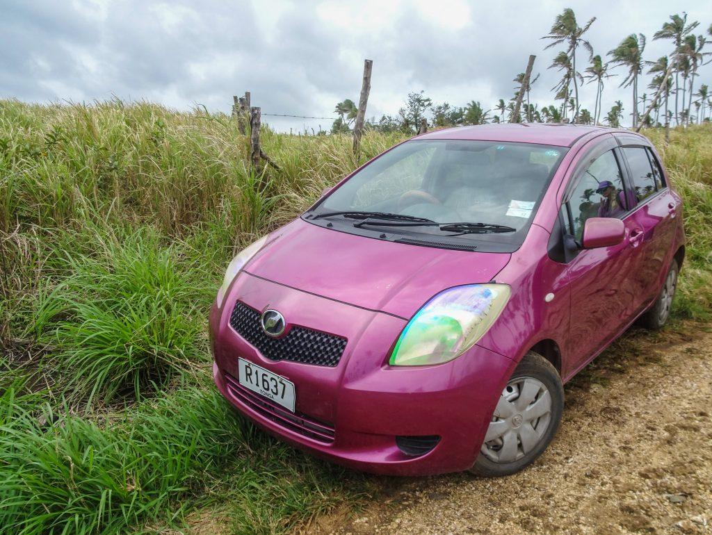 Renting a car in Tonga