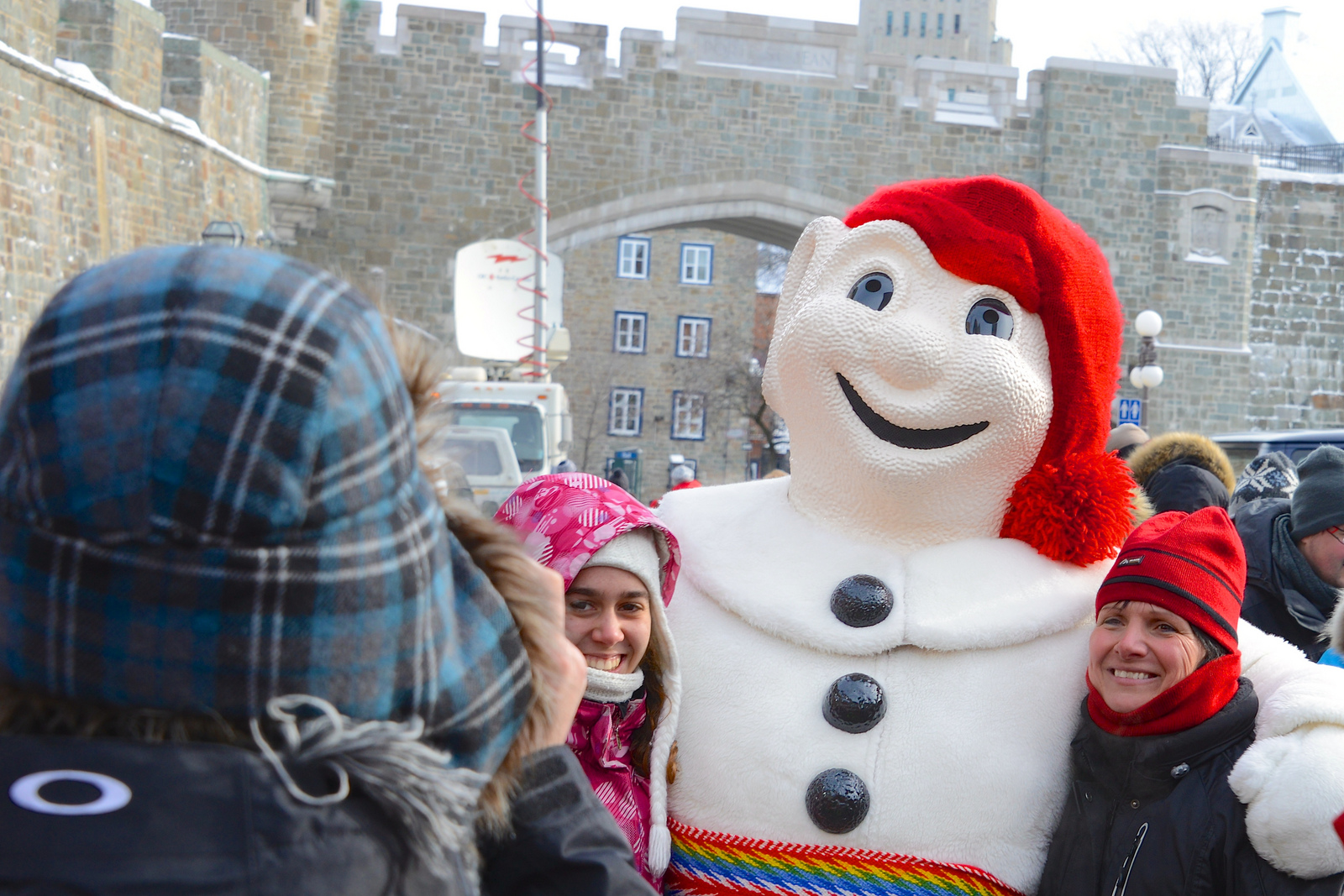 Bonhomme from Quebec City Carnival