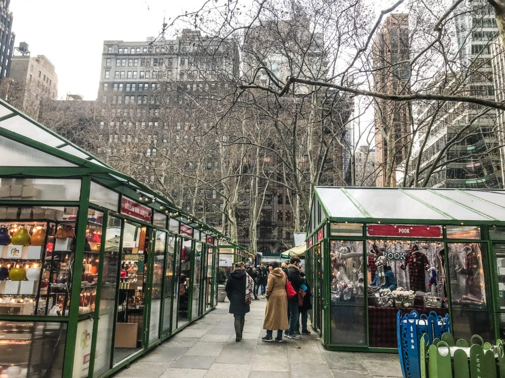 Bryant Park Christmas Village