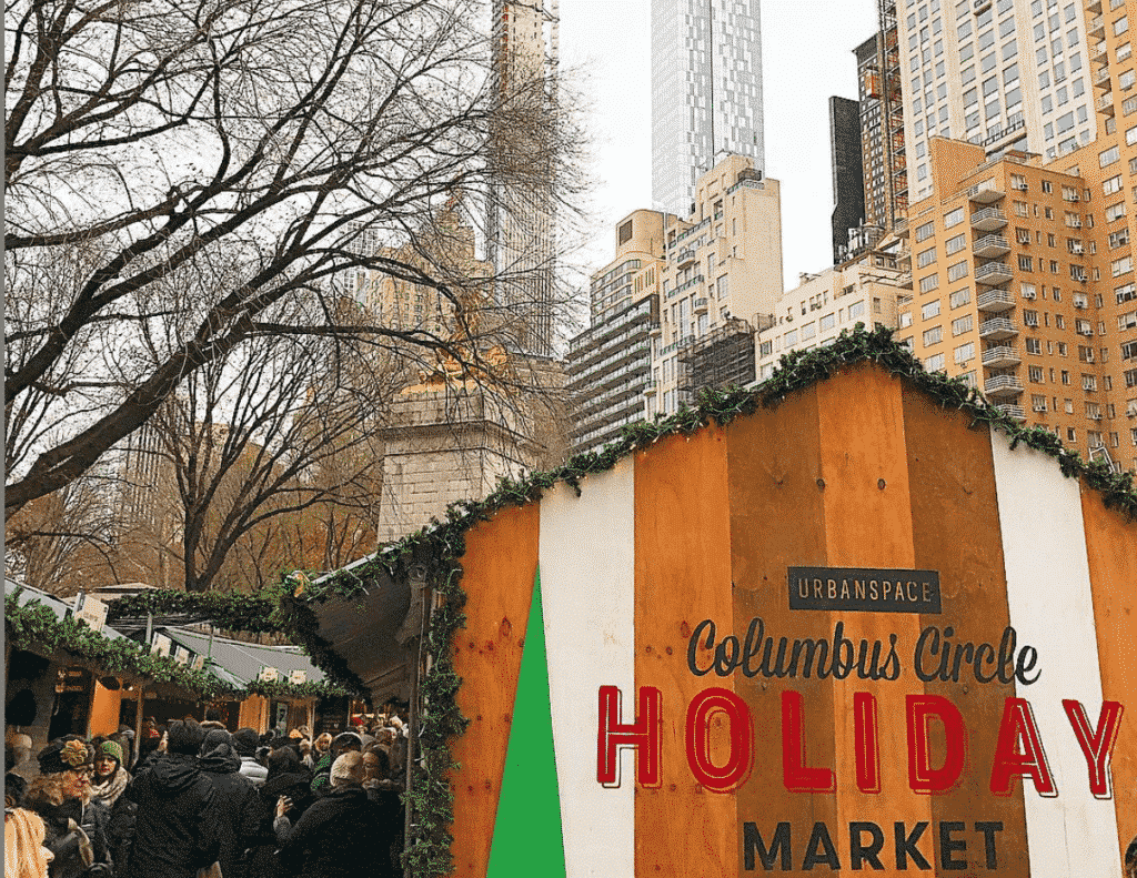 NYC Christmas market