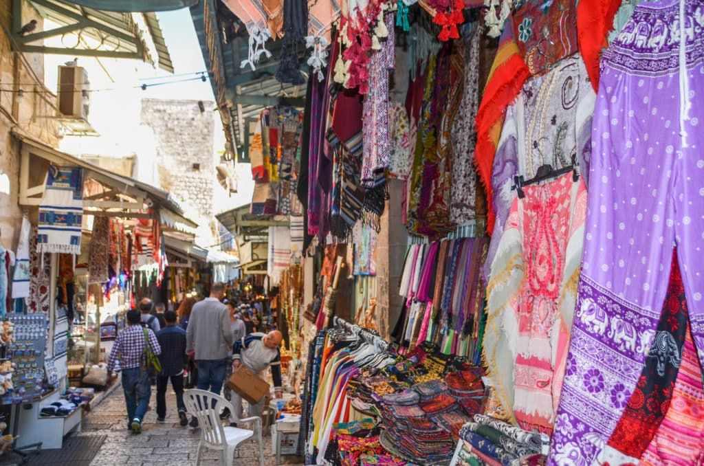 Market in Old Town Jerusalem