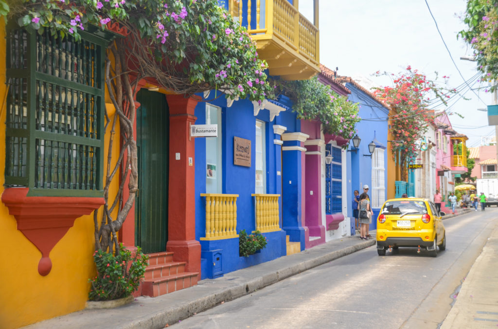 Old Town Cartagena Streets
