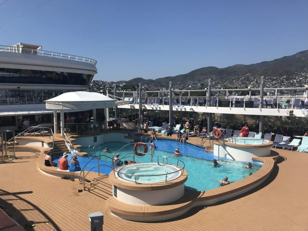 Pool on the Norwegian Star