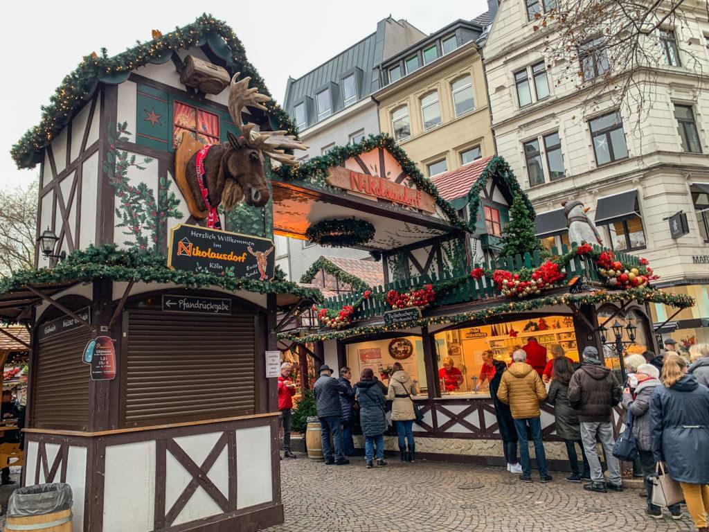 St. Nicholas Market, Cologne Germany