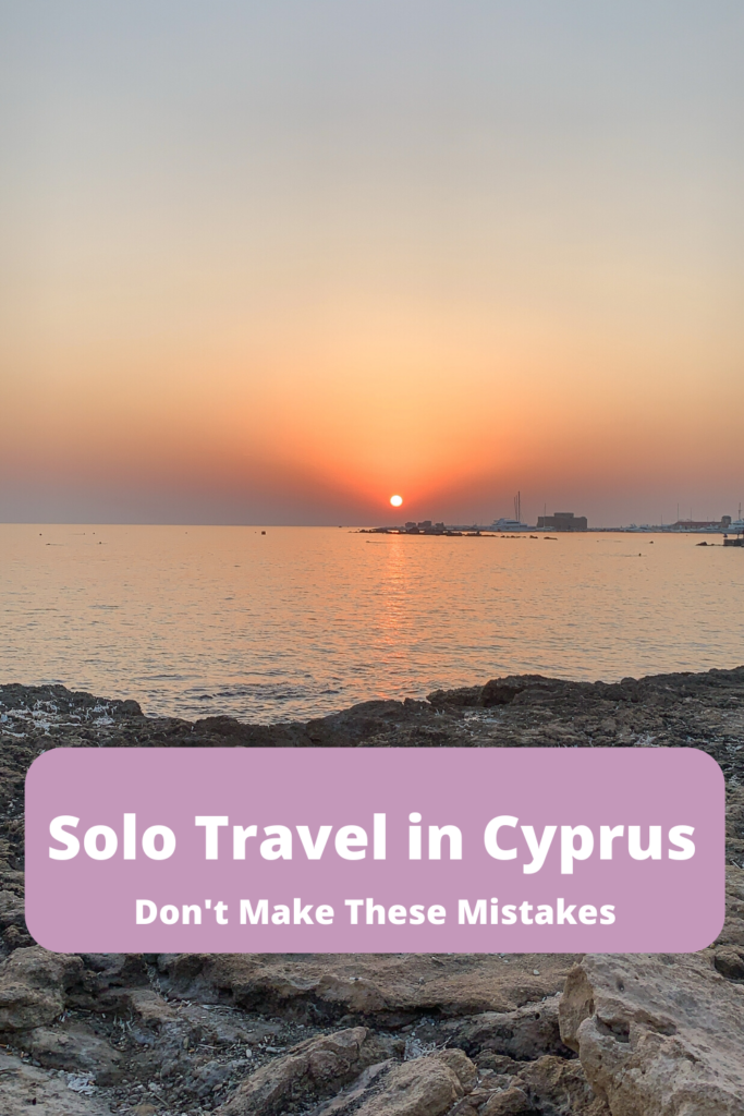 Solo Travel in Cyprus