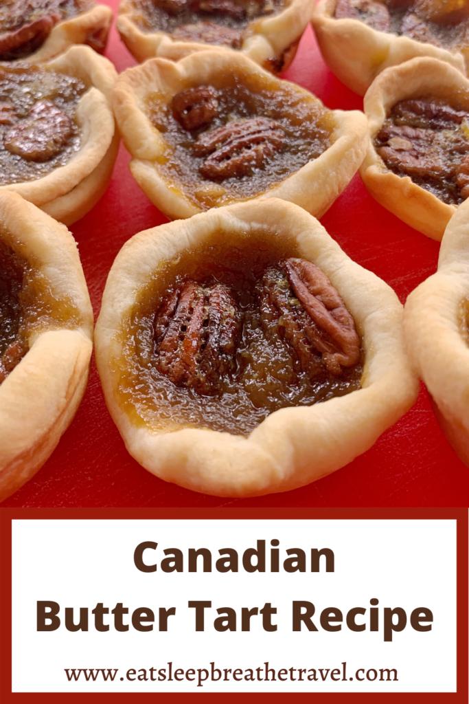 Canadian Butter Tart Recipe
