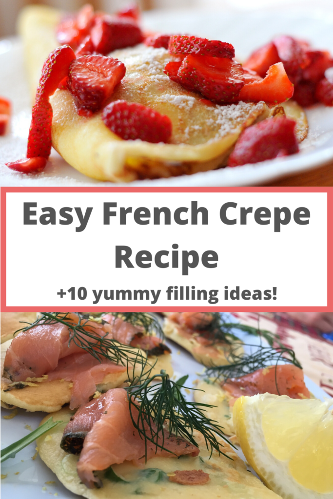 Easy and delicious French Crepe recipe