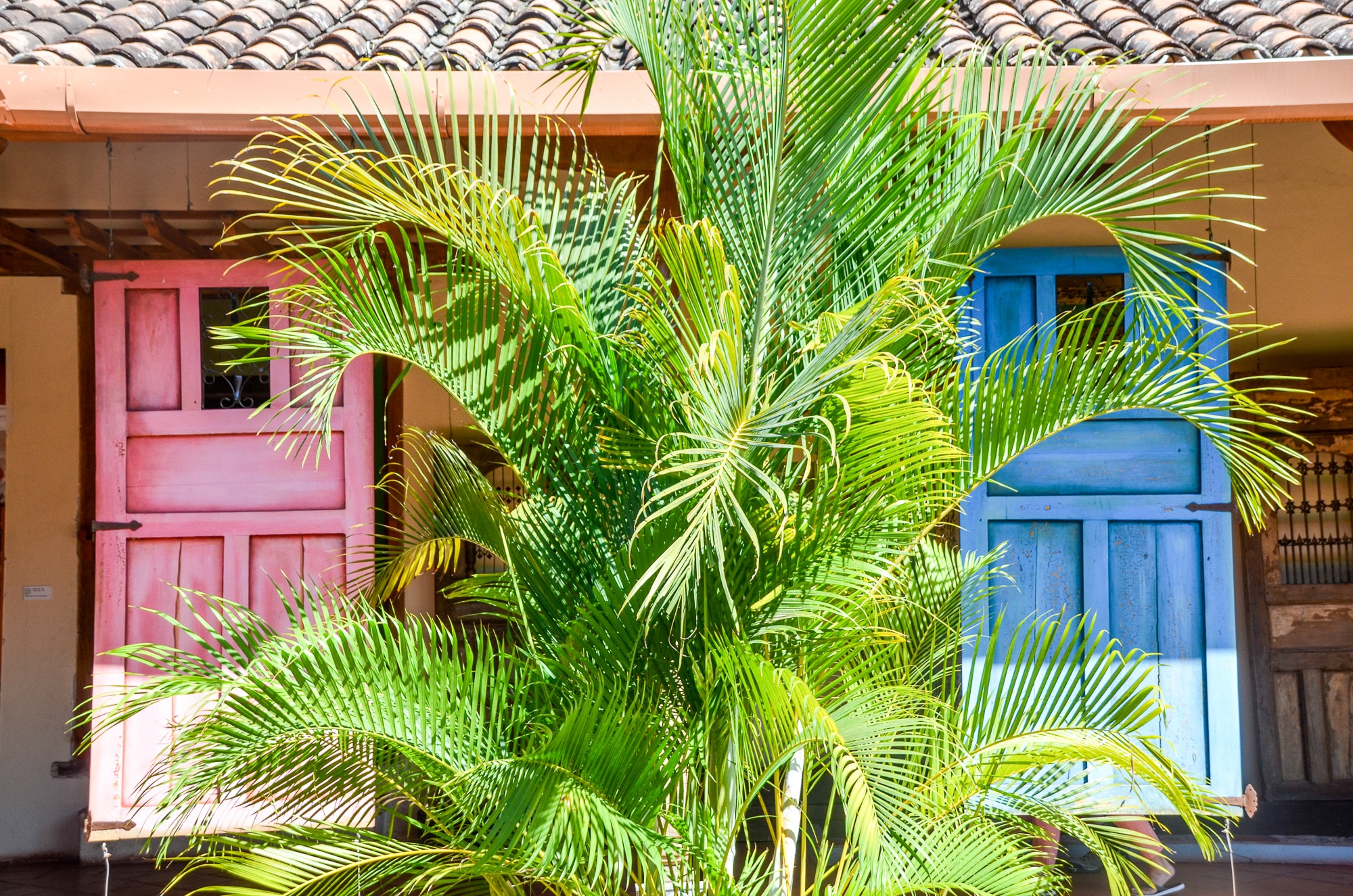 Colourful Doors in Nicaragua