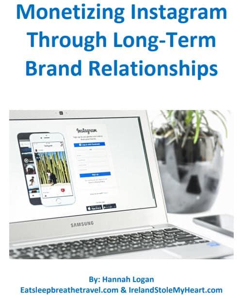 Monetizing Instagram Through Long-Term Brand Relationships